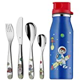 WMF 1281209980 Kinderbesteck Set 5-teilig - Willy Mia Fred Space ohne individuelle Gravur