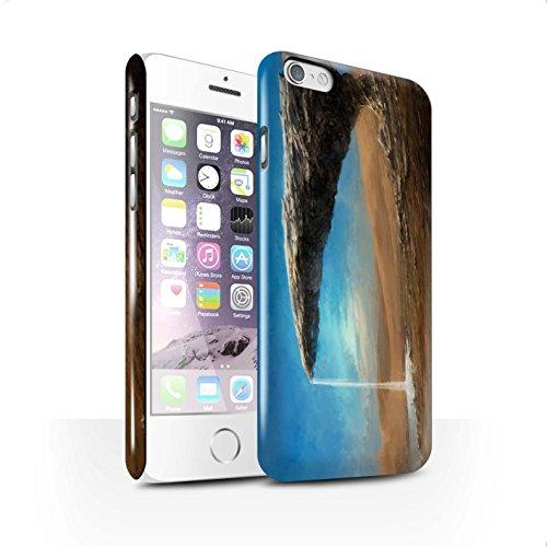 Offiziell Chris Cold Hülle / Glanz Snap-On Case für Apple iPhone 6S / Phönix/Raumzeit Muster / Galaktische Welt Kollektion Exoplanet