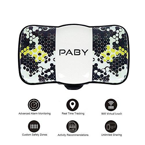 Rastreador Gps inteligente para mascotas, monitor de actividad, pequeño rastreador de seguimiento en tiempo real, dispositivo localizador con collar de mascota para perros gatos y más. De la marca Paby.