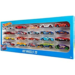 Hot Wheels - Pack 20 vehiculos (Mattel H7045)