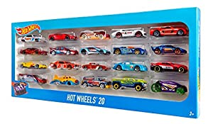 Hot Wheels - Pack 20 vehiculos (Mattel H7045)