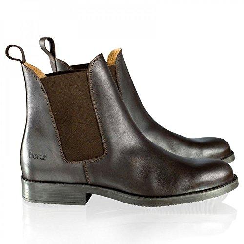 Horze Classic Jodhpurstiefel aus Leder Farbe:-Dunkelbraun (DBR) Gr:-38