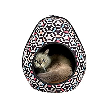 Ibiyaya Gourd Maison pour Animal, Motif nid d'abeille