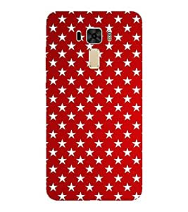 EPICCASE multi stars Mobile Back Case Cover For Asus Zenfone 2 Laser ZE551KL (Designer Case)