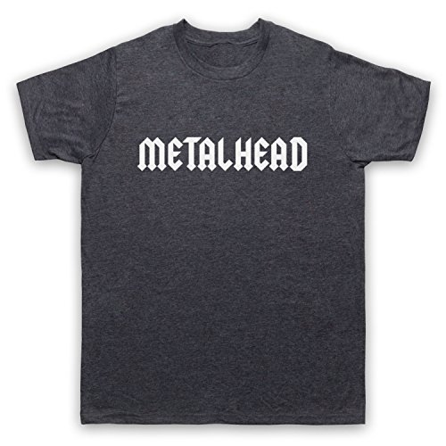 Metalhead Heavy Metal Herren T-Shirt Jahrgang Schiefer