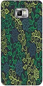 Snoogg A Seamless Leaf Pattern Designer Protective Back Case Cover For Samsun...