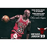 PosterHook Michael Jordan Poster Wall Decor | Special Paper Poster (12x18 inches)