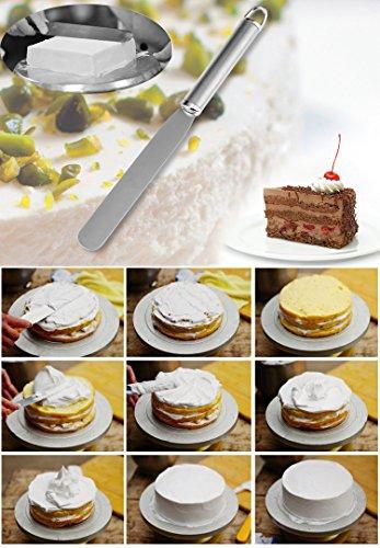 Anpro-Kuchen-Retter-Torten-Heber-und-Streichpalette-Konditorenmesser-Kuchen-Heber-von-315-x-26cm-Streichmesser-von-297x24cm