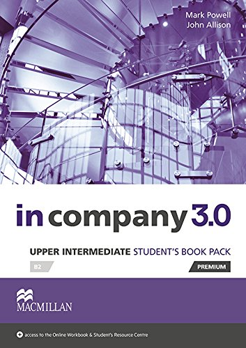 In Company 3.0 Upper Intermediate Level Student's Book Pack par M Powell