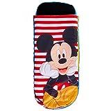 Mickey Mouse Kinder-Schlafsack und Luftbett Polyester One Size