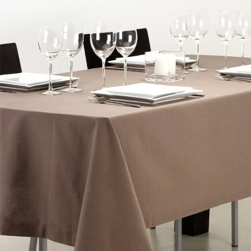 Nappe anti-tache waterproof taupe 140X240 cm