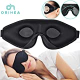 OriHea Sleep Mask for Women & Men, 3D Comfort Ultra Soft Premuim Eye