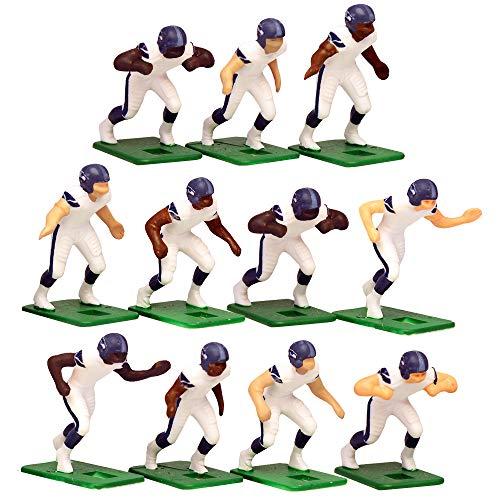 Seattle Seahawks?White Uniform NFL Action Figure Set by Tudor Games
