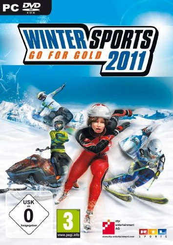 Winter Sports 2011 - Go for Gold (Schneemobil-rennen)