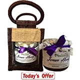Farm Naturelle-Aesthetically Designed Jute Gift Bag With Pure Raw Natural Unheated Unprocessed Forest Acacia Flower...