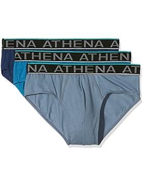 Athena Easy Chic - Ropa interior para hombre, lot de 3