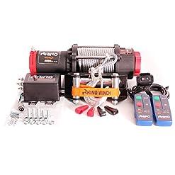 4500lb (2045kg) VERRICELLO 12V Cavo d'acciaio del 50% più potere di 3000lb (Winch Quad ATV barca)