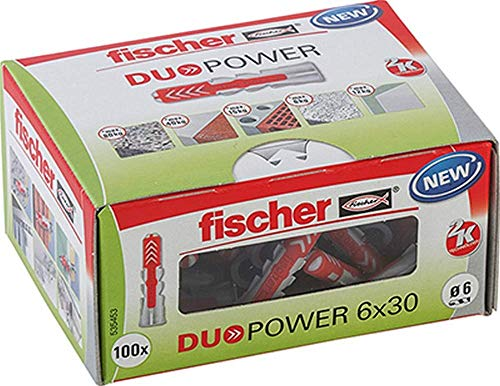 Fischer 104460101 Taco Duopower 6x30 diy/Caja 100