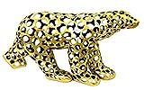 Escultura de Arte Moderno-Oso polar de bronce/Cut Out Style-Firmada Martin...