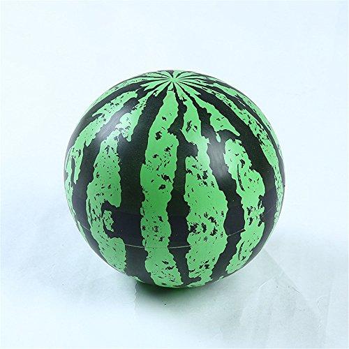 (Queta aufblasbar Wassermelone Strand Ball Geformte Blow up Panel Garten Urlaub Party Strand Spielzeug)