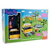 Peppa Pig Campervan & Park Playset …