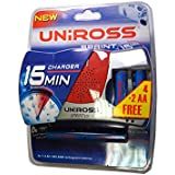 Chargeur Uniross Sprint 15 Ultra Rapide 15 Minutes AA ou AAA + 6 Accus AA Ni-Mh 1.2V 2100Mah