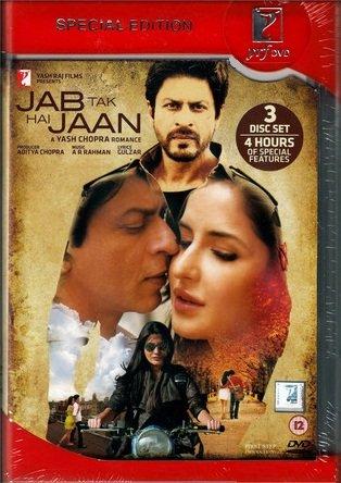 Jab Tak Hai Jaan. Bollywood Film mit Shahrukh Khan. 3-DVD-Ausgabe - Collectors Edition: der Film + The Making + 4 Stunden Besonderheiten. Sprache: Hindi mit Untertiteln in Englisch, Niederländisch, Französisch und Arabisch. (Bollywood Mit Shahrukh Khan)