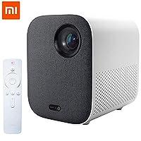 جهاز عرض شاومي ميجيا ميني عالي الدقة (نسخة شبابية) DLP محمول 1920 × 1080 يدعم شاشة فيديو 4K 500 ANSI WIFI Bluetooth TV لسينما المنزل والألعاب من قبل PRIME TECH TM