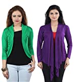 Combo of Purple Long & Green Short