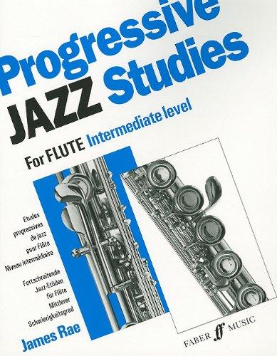 PROGRESSIVE JAZZ STUDIES 2 FLUTE (Faber Edition)