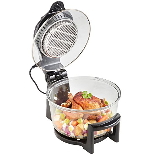 Vonshef Halogen Oven Air Fryer With Hinged Lid 12l