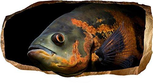 Startonight Papier Peint 3D Le Poisson Qui Sait Tout, Décoration Murale Photo sur le mur Grand Format XXL Motif Moderne Déco d'Art Murale 82 x 150 CM