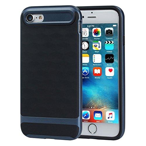 Wkae 3D Diamond PC + TPU Kombination Schutzhülle für iPhone 7 ( SKU : Ip7g2880gs ) Ip7g2880bd
