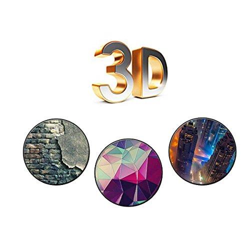 Coque iPhone 5 5s, FUBAODA Mode Créatif Design Anti-Scratch Protection intelligente Slim Fit Shockproof Flexible Design contemporain contemporain 3D pour iPhone 5 5s [Crâne] pic: 07