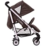 i'coo Phoenix Stroller, Brown, 3-48 Months by ICOO