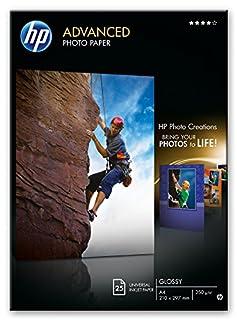 HP Advanced Q5456A - Papel fotográfico Satinado (25 Hojas, A4) (B000ILYXSG) | Amazon price tracker / tracking, Amazon price history charts, Amazon price watches, Amazon price drop alerts