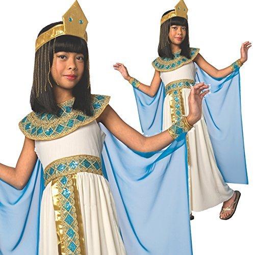 des Nils Kleopatra Kostüm Karneval (ägyptische Kostüme Kind)