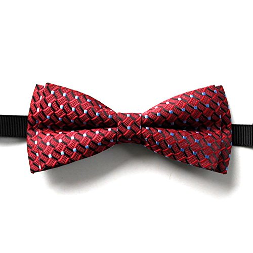 Mjhwsx Moda poliestere cravatta maschile ,
