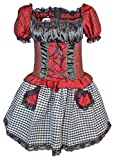 Burlesque Femme Pirate robe Victoria Pirate Costume pour femme -  Multicolore - 38