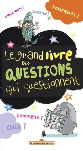 Le Grand livre des questions qui questionnent par Hortense de Chabaneix