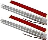2x 72 LED Innenbeleuchtung Auto Lampe 12V für Bar Auto Van Bus Beleuchtung weiß