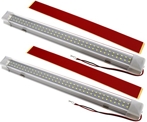 2x 72 LED Innenbeleuchtung Auto Lampe 12V für Bar Auto Van Bus Beleuchtung - Bar Fahrzeug Led-licht