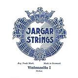 Jargar Jeu supérieure pour violoncelle une ficelle-Boule-Tirant medium