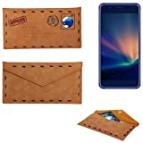 K-S-Trade Protective cover case for Hisense A2 Pro, brown.
