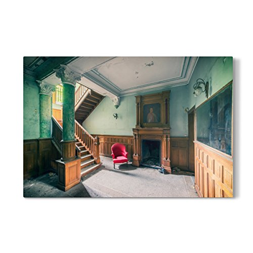 Roter Stuhl Galerie (artboxONE Galerie-Print 30x20 cm