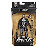 Hasbro Marvel Legends Series- The Punisher Action Figure Marvel 80esimo Anniversario, Multicolore, E86105L0