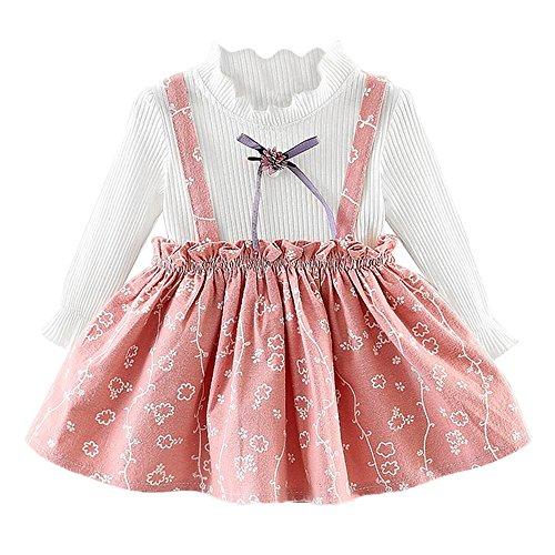 48ca70636 Amlaiworld Vestido niña Recién Nacido Vestidos de Princesa Fiesta ...