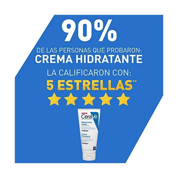 Crema hidratante para piel seca y muy seca, de CeraVe, 170 ml