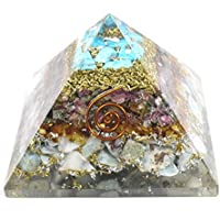 Orgonite Pyramid Larimaar + Multi Tourmaline + Blue Quartz 3-3.5 Inch Chakra & Reiki Healing Aura Cleansing Crystal. preisvergleich bei billige-tabletten.eu