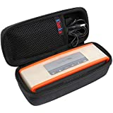 Teckone EVA Hard Case Travel Carry Bag Cover for Bose Soundlink Mini Bluetooth Portable Wireless Speaker 1 I / 2 II and Wall Charger / Charging Cradle / Fits with TPU/Silicone Soft Cover
